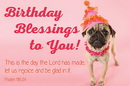 Christian Brands B4529 Birthday Blessings to You