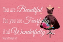 Christian Brands B4531 You are Beautiful for you are Fearfully &Wonderfully made