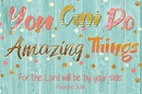 Christian Brands B4533 You can do Amazing Things