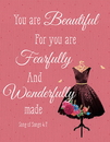 Christian Brands B4655 Square Magnet - You are Beautiful