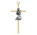 Christian Brands B64P04 First Communion Girl Brass Cross