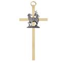 Christian Brands B69P04 Brass Cross - Reconciliation