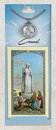 Creed CPC248 Our Lady of Fatima Prayer Card with Pewter Medal