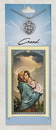 Creed CPC7173 Rose (Pro-Life) Prayer Card with Pewter Medal