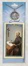 Creed CPC9674 St. Ignatius Loyola Prayer Card with Pewter Medal