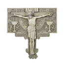 Avalon Gallery D1034 Crucifixion Garden Plaque