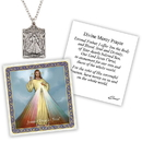 Creed D1370 Devotional Medal with Chain - Divine Mercy
