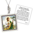 Creed D1373 Devotional Medal with Chain - St Jude