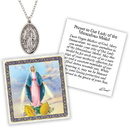 Creed D1374 Devotional Medal with Chain - Miraculous