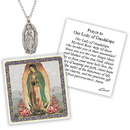 Creed D1375 Devotional Medal with Chain - OL Guadalupe
