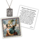 Creed D1377 Devotional Medal with Chain - St Christopher