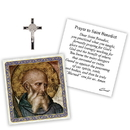 Creed D1378 Devotional Medal with Chain - St Benedict