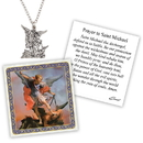 Creed D1379 Devotional Medal with Chain - St Michael
