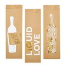 Christian Brands D1781 Paper Wine Bags - Assorted 6/pk