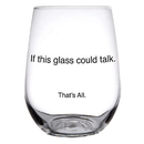 Christian Brands D1804 Could Talk - Stemless - That's All.