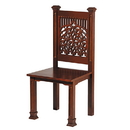 Robert Smith D1904 Tree Of Life Side Chair Walnut