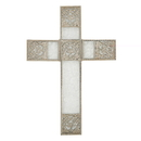 Christian Brands D2152 LoveLea Reflections Wall Cross: Silver