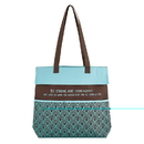 Gifts of Faith D2194 Be Strong - Inspirational Tote Bag with Pockets