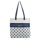 Gifts of Faith D2197 Anchor - Inspirational Tote Bag with Pockets