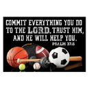 Christian Brands D2792 Pass-it-On - Commit Everything you Do to the Lord