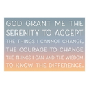 Christian Brands D2801 Pass-it-On - Serenity Prayer