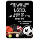Christian Brands D2894 Verse Card - Commit Everything you Do
