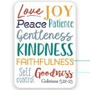 Christian Brands D2901 Verse Card - Fruit of the Spirit