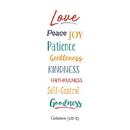 Christian Brands D2904 Bible Basics 10/pk - Fruit of the Spirit