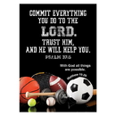 Christian Brands D2936 Large Poster - Commit Everything You Do