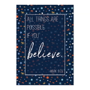 Christian Brands D2937 Large Poster - All Things are Possible