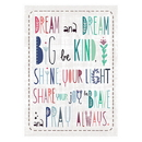 Christian Brands D2938 Large Poster - Dream and Dream Big