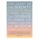 Christian Brands D2940 Large Poster - Serenity Prayer