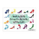 Christian Brands D2945 Small Poster - Walk by Faith