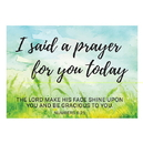 Christian Brands D2952 Postcard - I Said a Prayer for You