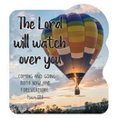 Christian Brands D2965 Shape Magnet - The Lord will watch over you