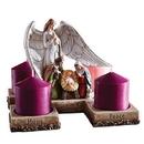 Christian Brands D3058 Nativity Advent Candleholder