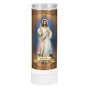 Will & Baumer D3071 Divine Mercy Battery Operated Flameless Candle