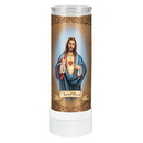 Will & Baumer D3074 Sacred Heart Battery Operated Flameless Candle