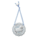Sacred Traditions D3077 Baptized in Christ Crib Medal Blue