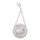 Sacred Traditions D3078 Baptized in Christ Crib Medal Pink