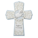 Sacred Traditions D3079 Baptized in Christ Cross Blue