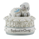Sacred Traditions D3081 Baptized in Christ Keepsake Box