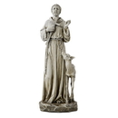 Avalon Gallery D3099 St Francis with Deer Statue