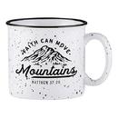 Faithworks D3247 Campfire Mug - Faith Can Move Mountains