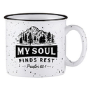 Faithworks D3250 Campfire Mug - My Soul Finds Rest