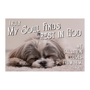 Christian Brands D3307 Pass It On Cards: My Soul Finds Rest