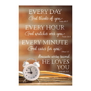 Christian Brands D3308 Pass It On Cards: Every Day Every Hour