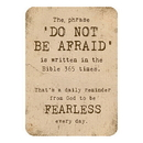 Christian Brands D3331 Verse Cards™ - Do Not Be Afraid