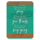 Christian Brands D3332 Verse Cards™ - Pray Give Thanks Keep Going