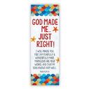 Christian Brands D3350 Bible Basics: God Made Me Just Right